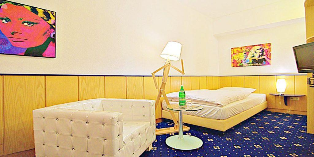 Retro-Art-Hotel Lünen Zimmer
