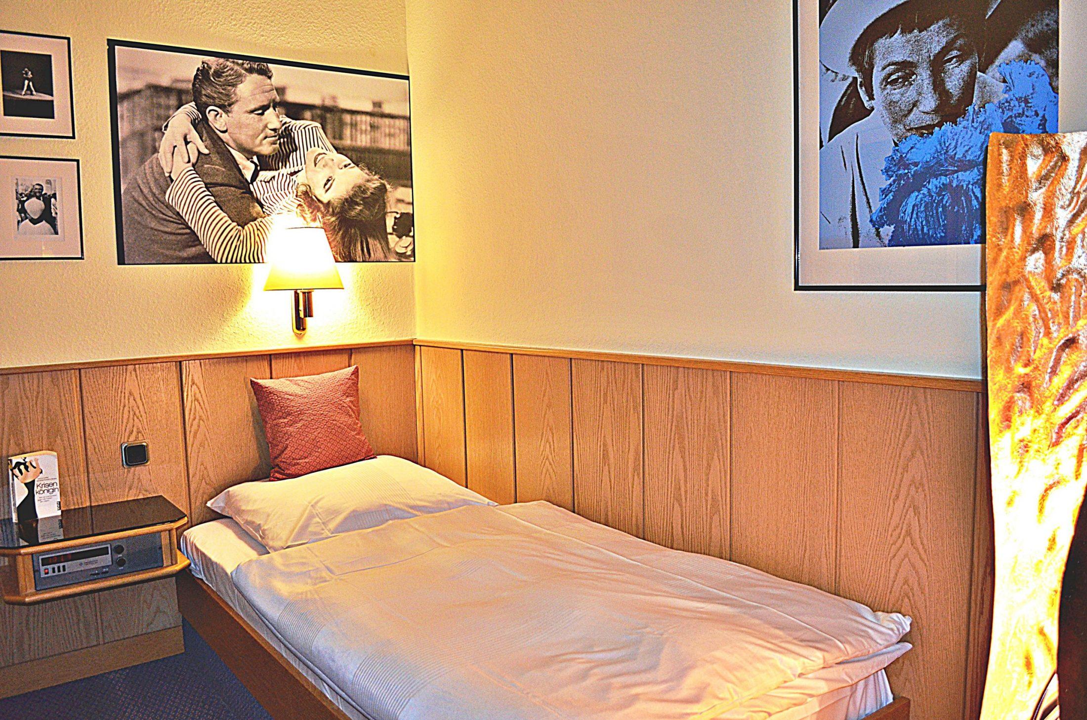 Retro-Art-Hotel in Lünen Standard-Einzelzimmer