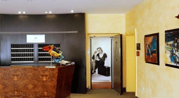 Hotel in Lünen Rezeption Lift